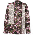 Givenchy - Camo Flower-Print Panelled Shirt