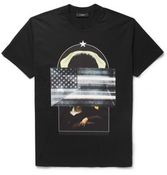 Givenchy Multi-Print Short-Sleeved T-Shirt
