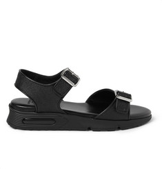 Givenchy Double Strap Sandals in Stingray-Embossed Leather