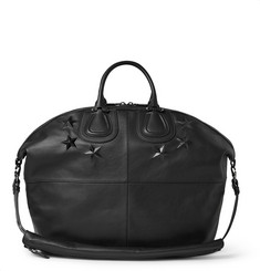 Givenchy Star-Embossed Leather Nightingale Holdall