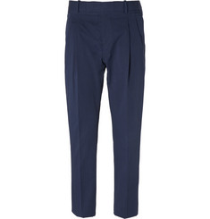 Marni Regular-Fit Cotton-Blend Trousers