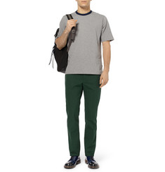 Marni Slim-Fit Cotton-Gabardine Trousers