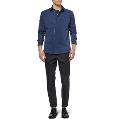 Marni Zipped Cotton-Blend Shirt