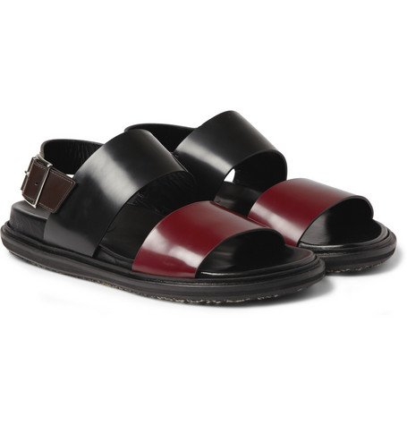Marni Strapped Leather Sandals