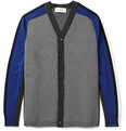 Marni - Panelled Bonded Wool-Blend Cardigan