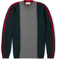 Marni - Panelled Virgin Wool Sweater