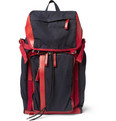 Marni Leather-Trimmed Canvas Backpack