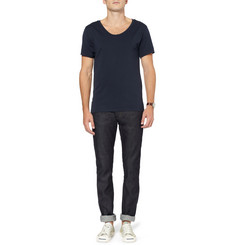 Acne Studios Max Raw Slim-Fit Dry-Denim Jeans