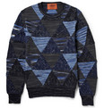 Missoni - Patchwork Cotton and Wool-Blend Sweater