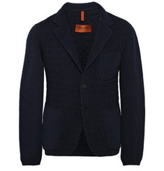 Missoni Unstructured Textured-Knit Cotton-Blend Blazer