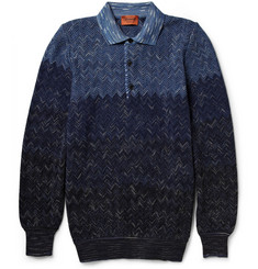 Missoni Degradé Cotton and Wool-Blend Sweater