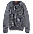 Missoni - Patterned Cotton Henley T-Shirt