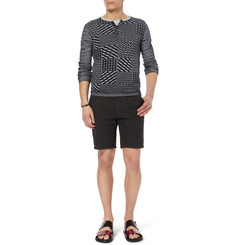 Missoni Patterned Cotton Henley T-Shirt