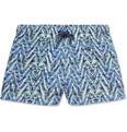 Missoni - Short-Length Printed Swim Shorts