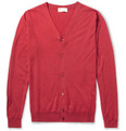 John Smedley Senate Cashmere and Silk-Blend Cardigan