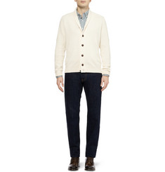 John Smedley Sherwood Merino Wool and Cashmere-Blend Cardigan