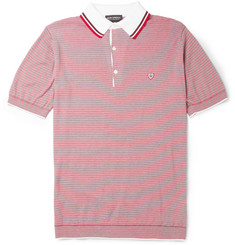 John Smedley Marius Knitted Sea Island Cotton Polo Shirt
