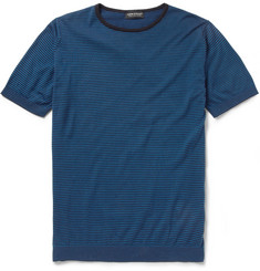 John Smedley Placido Knitted Sea Island Cotton T-Shirt