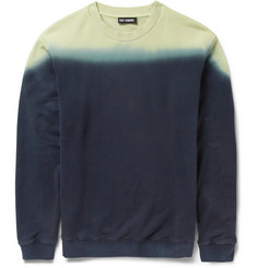 Raf Simons Dip-Dye Loopback Cotton Sweatshirt