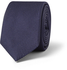 Raf Simons Pin-Dot Silk Tie