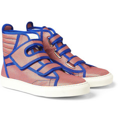 Raf Simons Patterned High-Top Sneakers