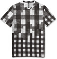 Neil Barrett - Slim-Fit Printed Cotton and Modal-Blend Jersey T-Shirt