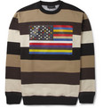 Givenchy - Striped Flag-Print Sweatshirt