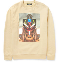 Givenchy Layered-Photographic Print Sweatshirt