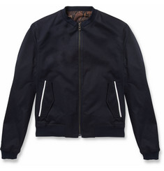 Wooyoungmi Reversible Cotton-Blend Bomber Jacket