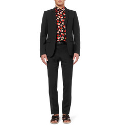 Wooyoungmi Slim-Fit Wool-Blend Suit Trousers