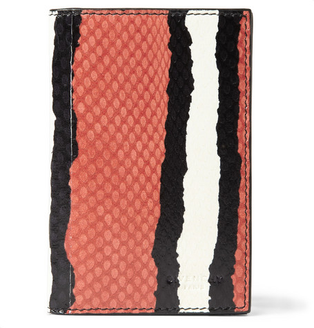 Givenchy Striped Water Snake Cardholder