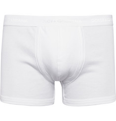 Dolce & Gabbana Ribbed Cotton-Blend Jersey Boxer Briefs