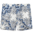 Robinson les Bains - Oxford Mid-Length Printed Swim Shorts