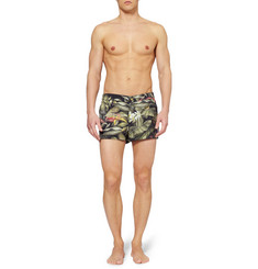 Robinson les Bains AMI Saint Martin Short-Length Printed Swim Shorts