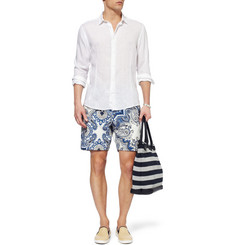 Robinson les Bains Printed Loopback Cotton-Jersey Shorts
