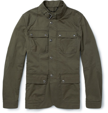 Belstaff Atworth Cotton-Blend Twill Jacket