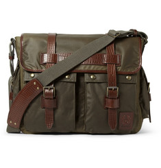 Belstaff Bromfield Waxed-Cotton Messenger Bag