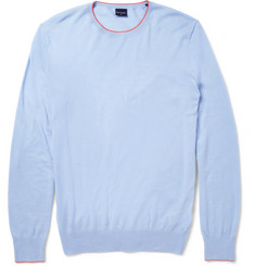 PS by Paul Smith Fine-Knit Cotton-Blend Sweater