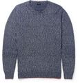 PS by Paul Smith Flecked Knitted Cotton Boucle Sweater