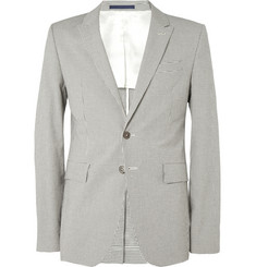 PS by Paul Smith Slim-Fit Check Cotton-Blend Blazer