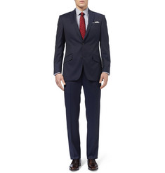Richard James Hyde Navy Pinstripe Wool Suit