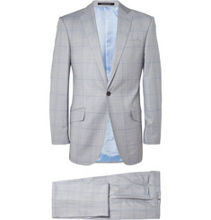Richard James Hyde Prince Of Wales Check Wool Suit