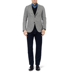 Richard James Spirit Unstructured Linen, Wool and Silk-Blend Blazer