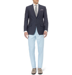 Richard James Slim-Fit Linen, Cotton and Silk-Blend Blazer