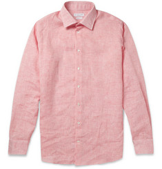 Richard James Slim-Fit Linen Shirt