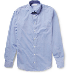 Richard James Paint-Splattered Cotton Shirt