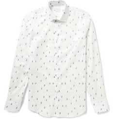Richard James Slim-Fit Yacht-Print Cotton Shirt
