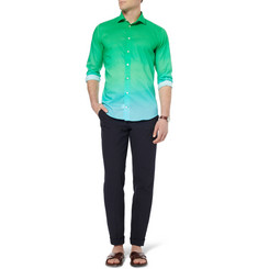 Richard James Slim-Fit Degradé Cotton Shirt