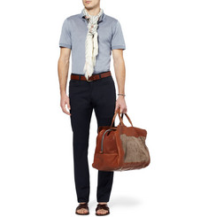 Brioni Cotton-Pique Polo Shirt
