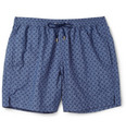 Brioni - Mid-Length Printed Swim Shorts